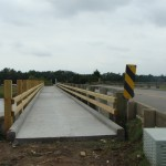 The Kiawah Island Bikepath is well on its way. The bridge section of the bike path is almost complete.