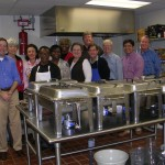 St. Johns Parish Rotary Club members ready to serve.