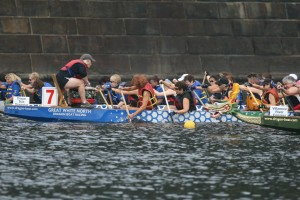 Dragon boats race all around the world, and Charleston's dragon boat team will be at the Freshfields Village giving demonstrations in the nearby lake.