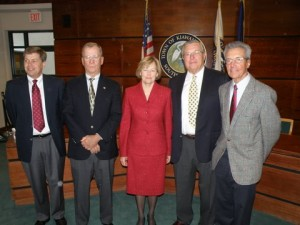 The new Kiawah Town Council. Photo by Rusty Lameo