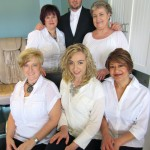 Corey, Cindy, Haily, Edie, and Pandora work together to make Prime Cuts Salon a wonderful place to pamper up.