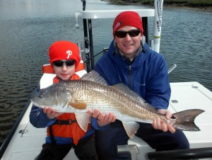 Redfish and trout have been more active since the start of spring.