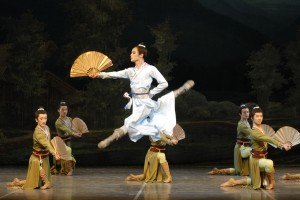 The Shanghai Ballet is currently in Charleston.