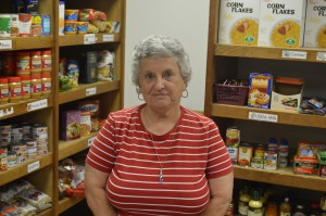 Edith Dixon loves the varied connections she makes while volunteering.