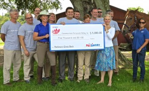 PetSmart will provide this charitable donation through its PetSmart Gives Back initiative.