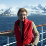 Never one to slow down, Sue Holloman visits the Antarctic.