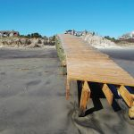 Kiawah Island Community Association's Boardwalk #40, near The Beach Club, suffered damage from Hurricane Matthew, as did much of the islands' shoreline.