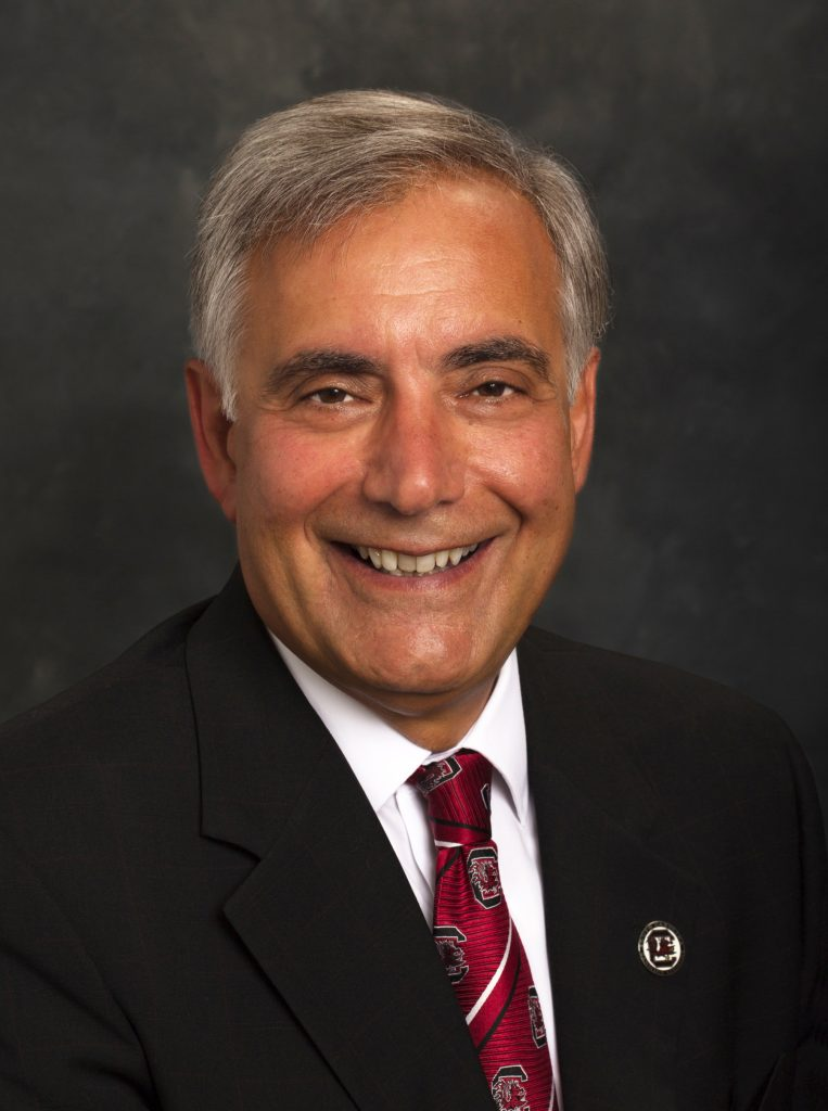 University of South Carolina President Dr. Harris Pastides