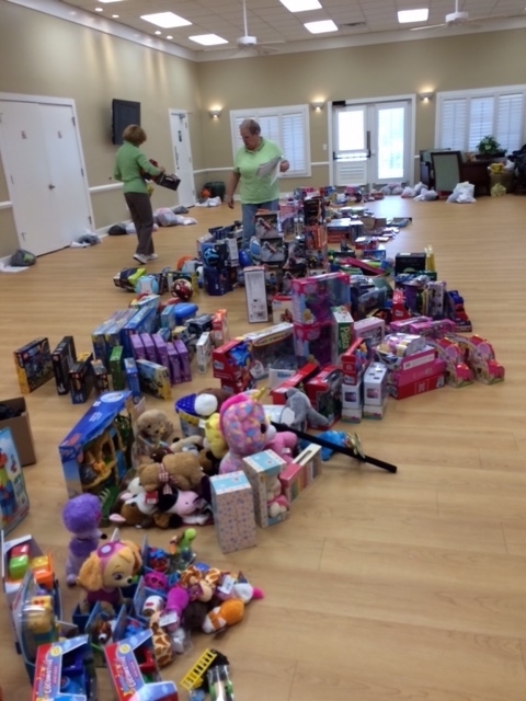 Mt. Zion Christmas Sorting