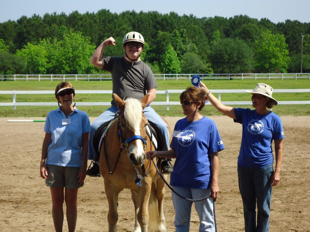 Charleston Area Therapeutic Riding volunteers