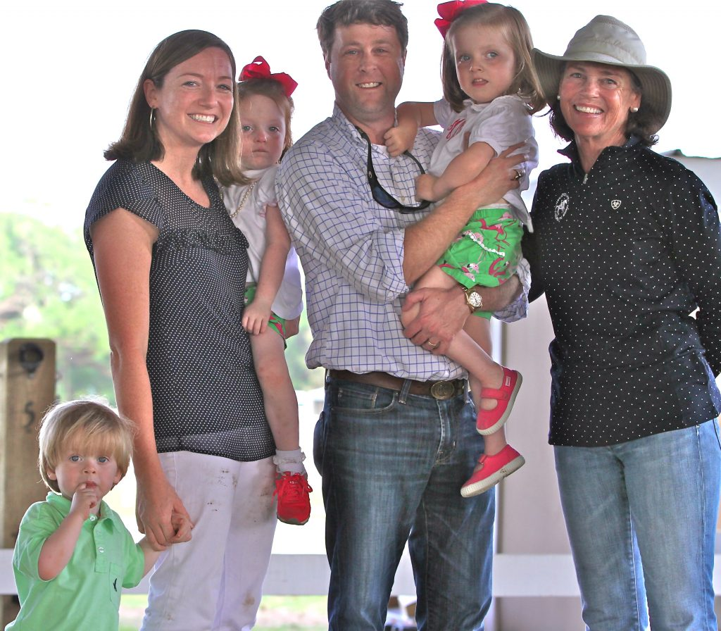 Mae Loflin McCoy and her family are featured in CATR's new film, The Ride, by Films for Humanity. (Pictured from left to right - Peter McCoy III, Jennifer McCoy, Lucy McCoy, Peter McCoy, Jr., Mae Loflin McCoy (CATR student), Murray S. Neale (CATR Executive Director)