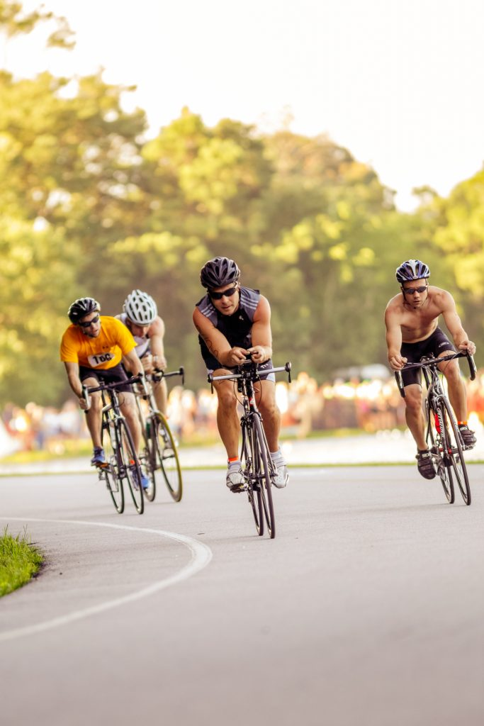 The 12-mile bike leg of the Charleston Sprint Triathlon Series. (Photo by Brian Fancher)