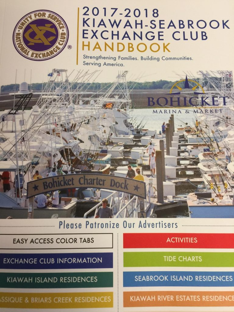 The 2017 handbook was delivered to members in June.