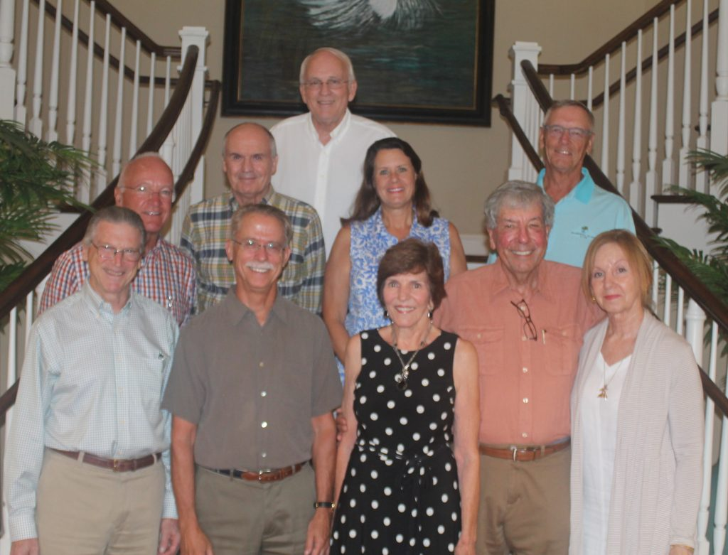 Top:  Bill Nelson; Middle (l-r): Ron Schildge, Warren Weber, Pam Paroli, Jerry Stephens; Bottom (l-r): Bruce Van Voorhis, Bob Leggett, Shirley Salvo, Bob Mason, Lori Leary.